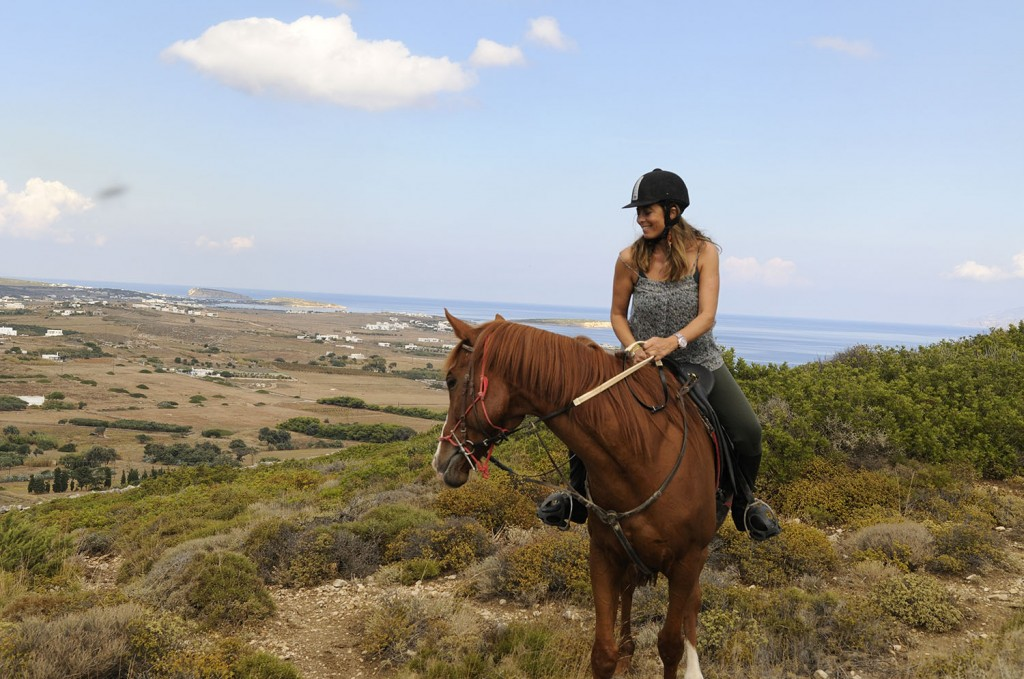 horse-riding, paros